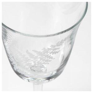ФРАМТРЭДА Бокал для вина прозрачное стекло/папоротник 30 сл - Артикул: 203.916.96