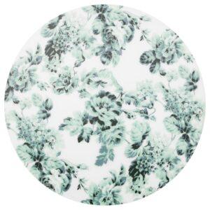 СМАКСИННЕ Салфетка под приборы бел/зелен/цветок 37 см - Артикул: 404.031.89