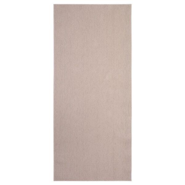 СОЛЛИНГЕ Ковер безворсовый бежевый 65x150 см - Артикул: 904.187.96