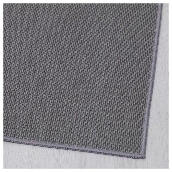 СОЛЛИНГЕ Ковер безворсовый серый 65x150 см - Артикул: 004.187.67