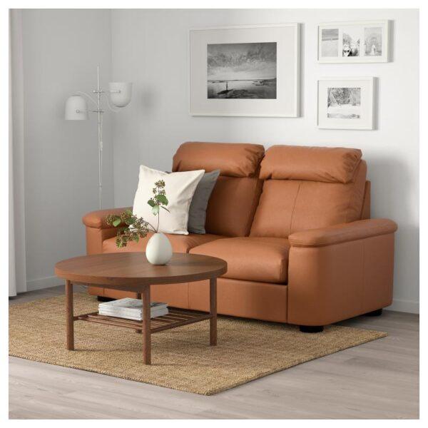 ЛИДГУЛЬТ 2-местный диван, Гранн/Бумстад золотисто-коричневый - Артикул: 892.570.25