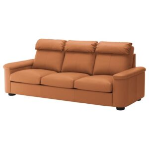 ЛИДГУЛЬТ 3-местный диван, Гранн/Бумстад золотисто-коричневый - Артикул: 192.570.43