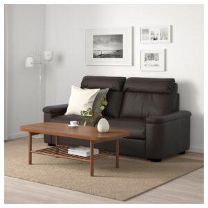 ЛИДГУЛЬТ 2-местный диван-кровать, Гранн/Бумстад темно-коричневый - Артикул: 592.660.12