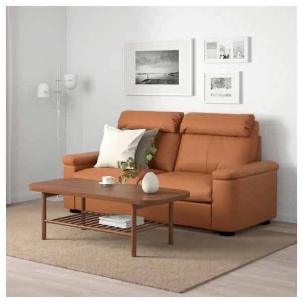 ЛИДГУЛЬТ 2-местный диван-кровать, Гранн/Бумстад золотисто-коричневый - Артикул: 492.660.17