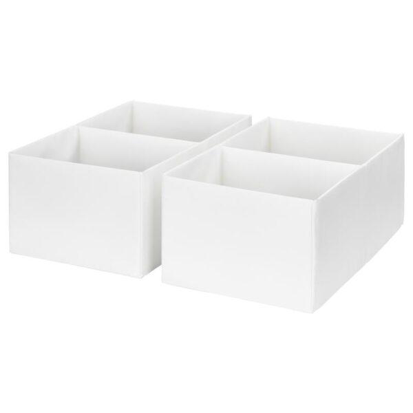 РАССЛА Ящик с отделениями, белый 25x41x16 см - Артикул: 004.180.84