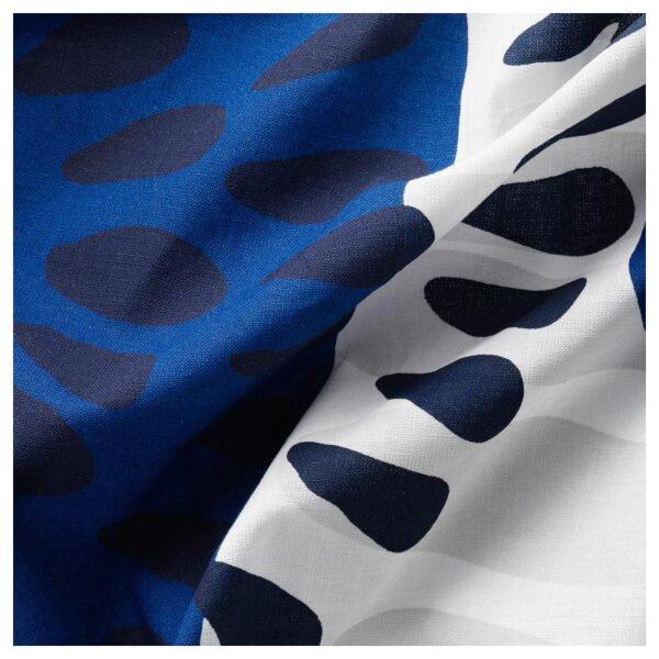 ИРМЕЛИН Гардины, 1 пара, белый/разноцветный 145x300 см - Артикул: 604.251.71