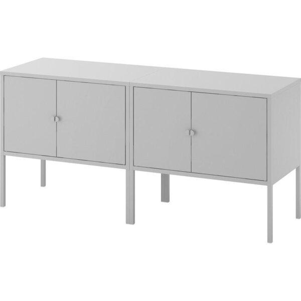 ЛИКСГУЛЬТ Комбинация шкафов серый 120x35x57 см - Артикул: 792.791.79