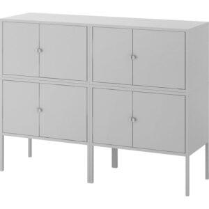 ЛИКСГУЛЬТ Комбинация шкафов серый 120x35x92 см - Артикул: 892.791.88