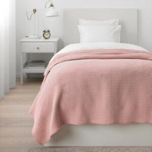 ВОРЕЛЬД Покрывало светло-розовый 150x250 см - Артикул: 404.062.44