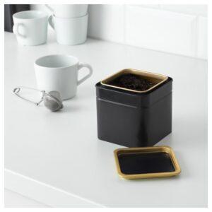 БЛОМНИНГ Банка для кофе/чая 10x10x10 см - Артикул: 903.732.03