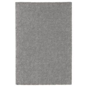 СТОЭНСЕ Ковер, короткий ворс, классический серый 133x195 см - Артикул: 104.255.31