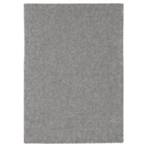 СТОЭНСЕ Ковер, короткий ворс, классический серый 170x240 см - Артикул: 104.268.37
