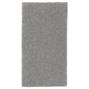 СТОЭНСЕ Ковер, короткий ворс, классический серый 80x150 см - Артикул: 604.270.09