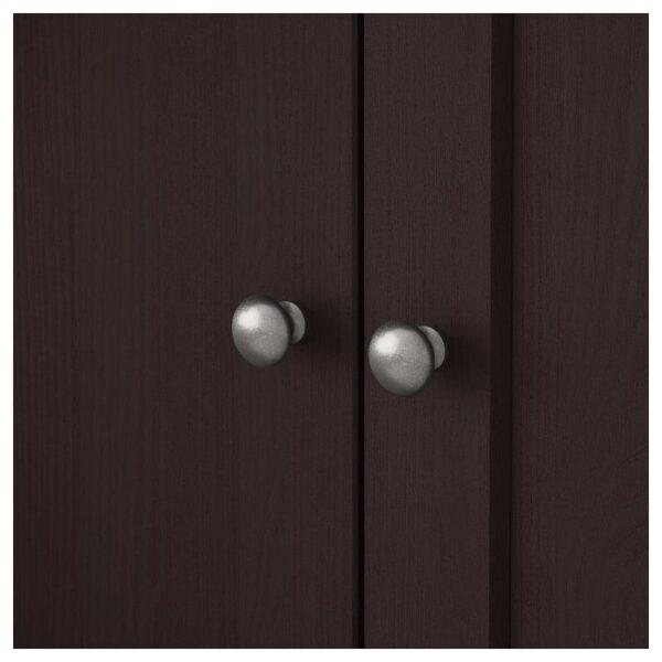 ХАВСТА Комбинация д/хранения+стекл дверц темно-коричневый 203x212x47 см - Артикул: 692.659.22