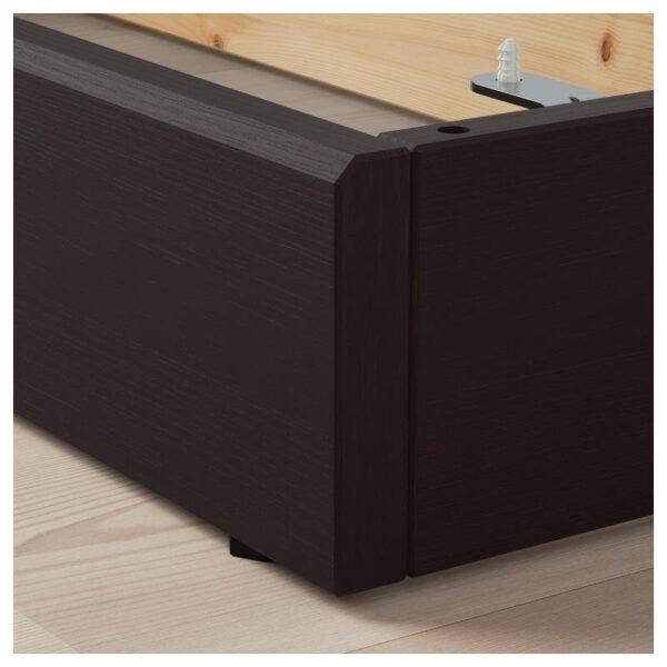 ХАВСТА Цоколь темно-коричневый 121x12x37 см - Артикул: 403.910.73
