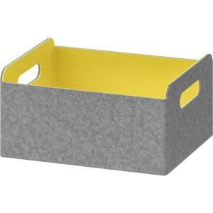 БЕСТО Коробка желтый 25x31x15 см - Артикул: 703.838.68
