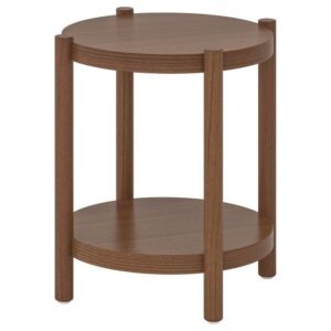 ЛИСТЕРБИ Придиванный столик коричневый 50 см - Артикул: 004.090.46
