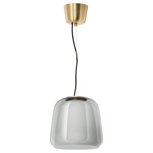 ЭВЕДАЛЬ Подвесной светильник, серый - Артикул: 603.642.24