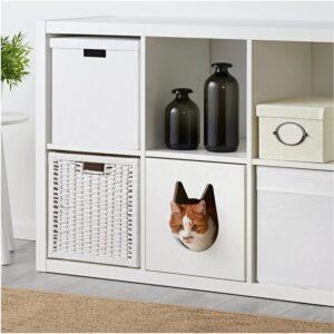 КАЛЛАКС Домик для кошки белый 33x33 см - Артикул: 904.281.68