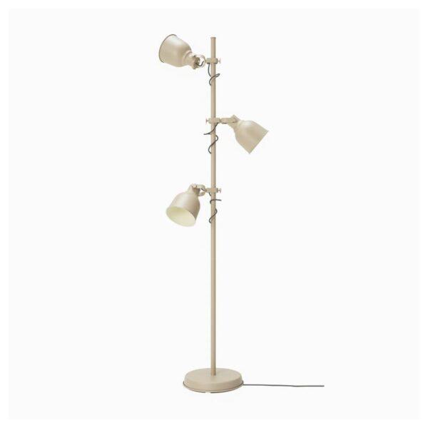 ХЕКТАР Светильник напольный с 3 лампами бежевый - Артикул: 804.102.39