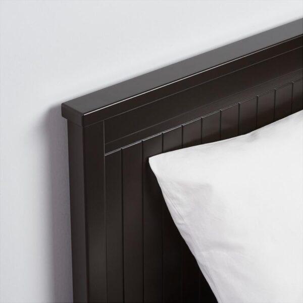 ХЕМНЭС Каркас кушетки с 3 ящ черно-коричневый 80x200 см - Артикул: 104.288.98