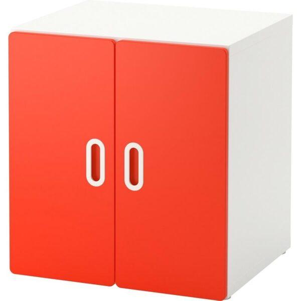 СТУВА / ФРИТИДС Шкаф белый/красный 60x50x64 см - Артикул: 092.794.89