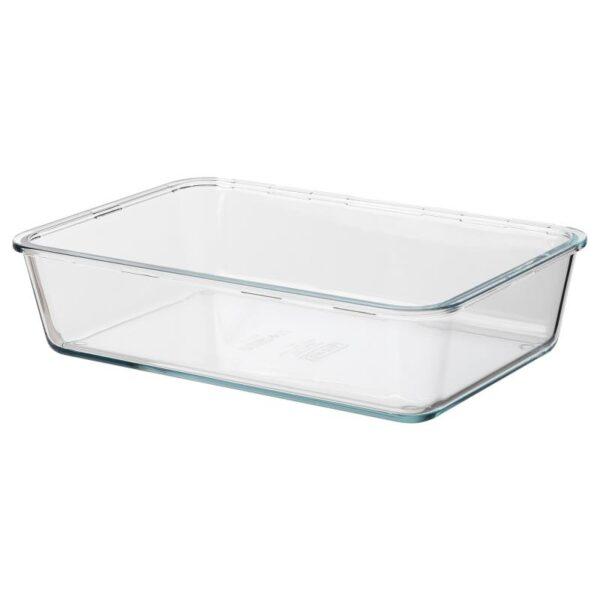 ИКЕА/365+ Контейнер для продуктов большой прямоугольн формы/стекло 3.1 л - Артикул: 403.931.33