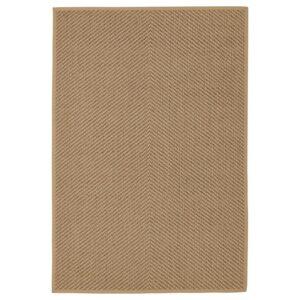 ХЕЛЛЕСТЕД Ковер безворсовый неокрашенный/коричневый 133x195 см - Артикул: 804.079.82