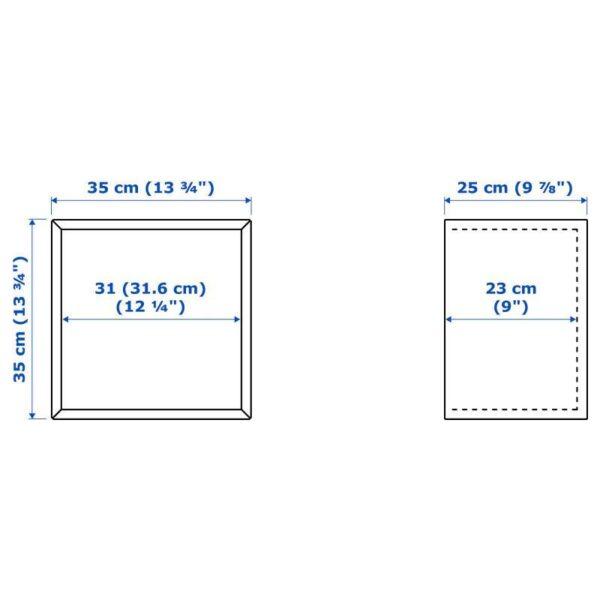 ЭКЕТ Шкаф, под беленый дуб 35x25x35 см - Артикул: 104.288.41