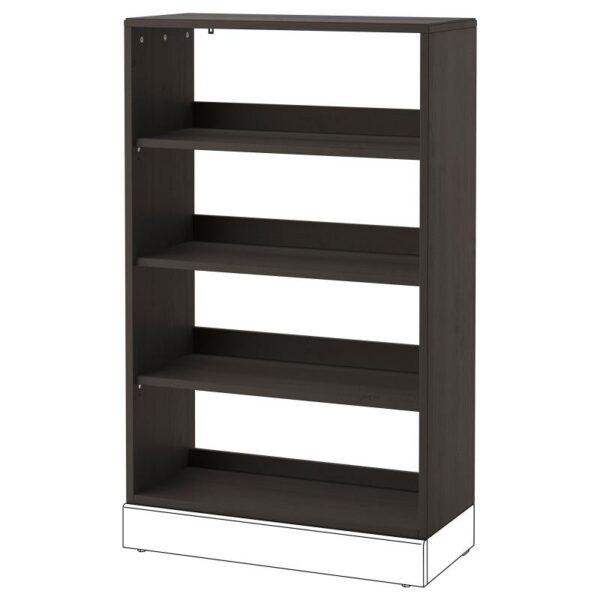ХАВСТА Стеллаж темно-коричневый 81x123x35 см - Артикул: 703.910.43