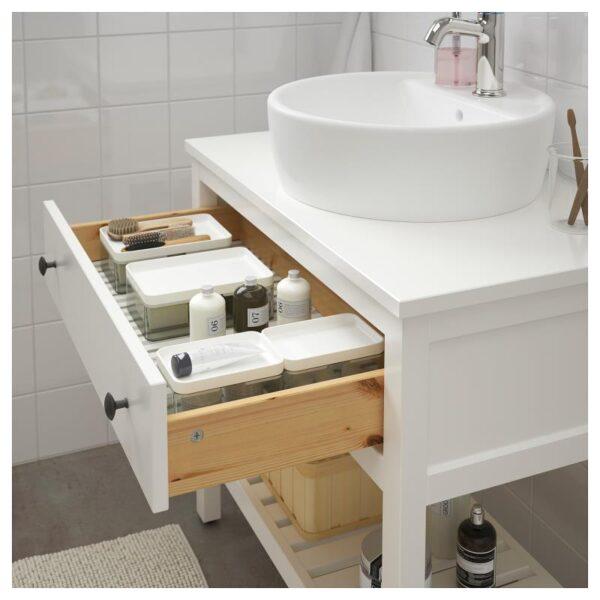 ХЕМНЭС Открытый шкаф для раковины,1 ящик белый 82x48x76 см - Артикул: 503.967.01