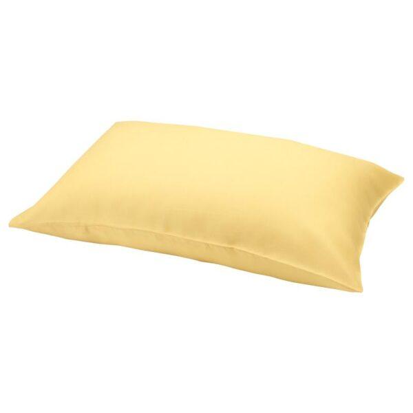 ПУДЕРВИВА Наволочка, светло-желтый 50x70 см - Артикул: 404.336.00