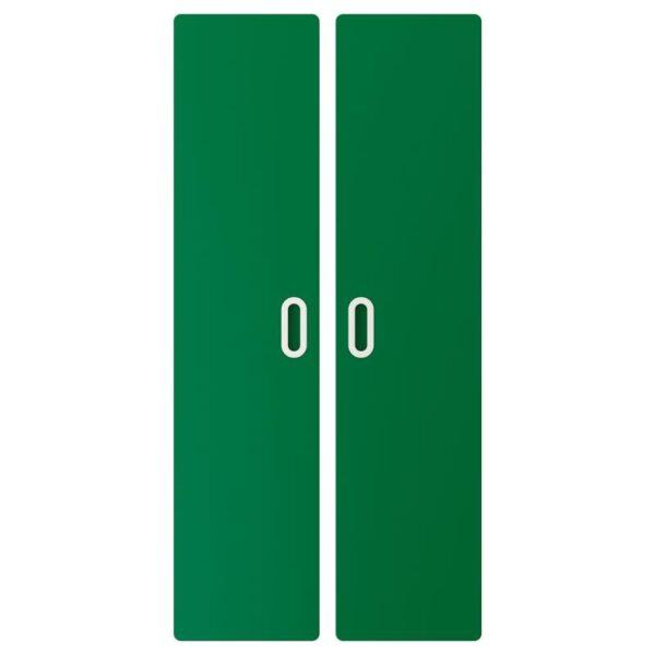 ФРИТИДС Дверь зеленый 60x128 см 2 шт - Артикул: 803.867.48