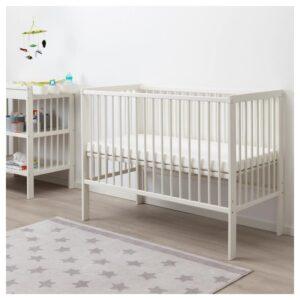 ГУЛЛИВЕР Кроватка детская, белый 60x120 см - Артикул: 304.212.21