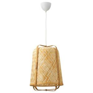 КНИКСХУЛЬТ Подвесной светильник, бамбук - Артикул: 804.071.33