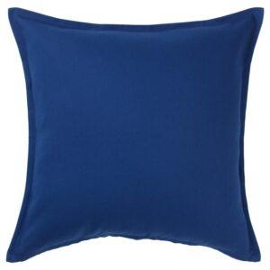ГУРЛИ Чехол на подушку, темно-синий 50x50 см - Артикул: 604.262.03