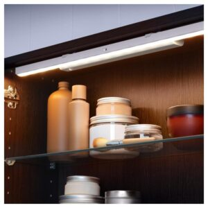 СТЁТТА Подсветка светодиодная с батарейным питанием белый 32 см - Артикул: 203.601.19