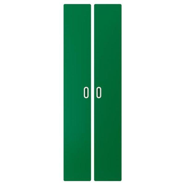 ФРИТИДС Дверь зеленый 60x192 см 2 шт - Артикул: 903.867.62