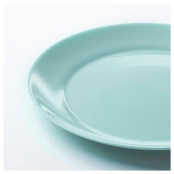 БЕСЕГРА Тарелка десертная светлая бирюза 21 см - Артикул: 104.105.63