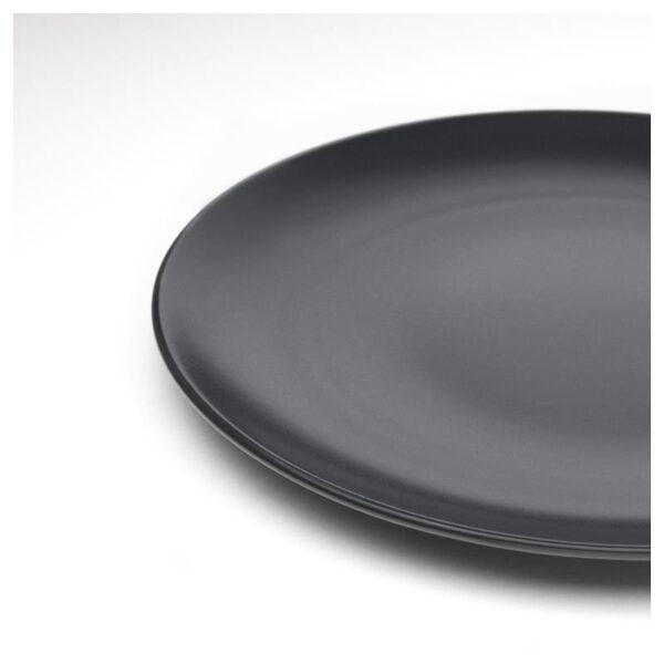 ДИНЕРА Сервиз,18 предметов, темно-серый - Артикул: 904.239.91