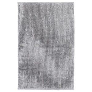 ТОФТБУ Коврик для ванной серо-белый меланж 50x80 см - Артикул: 504.222.53