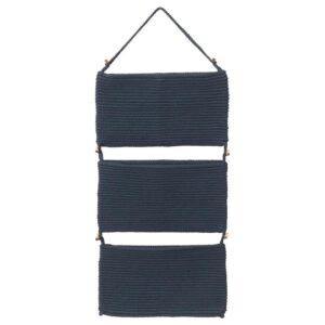 НОРДРЭНА Подвесной модуль д/хранения, синий 35x90 см - Артикул: 104.206.42