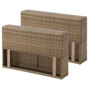 СОЛЛЕРОН Подлокотник для садовой мебели коричневый - Артикул: 603.864.76