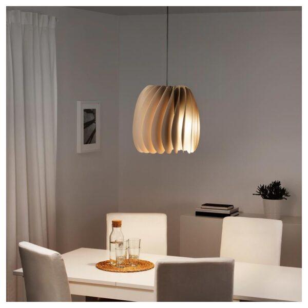 СКЮМНИНГЕН Подвесной светильник, бежевый - Артикул: 704.309.78