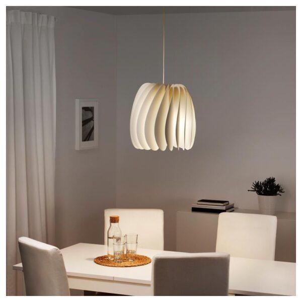 СКЮМНИНГЕН Подвесной светильник, белый - Артикул: 204.258.18