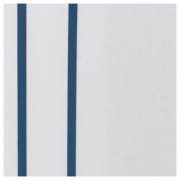 ОТТШЁН Штора для ванной, белый/синий 180x200 см - Артикул: 004.175.41