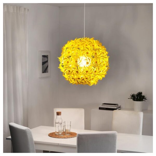 ГРИМСОС Подвесной светильник, желтый 55 см - Артикул: 804.168.49