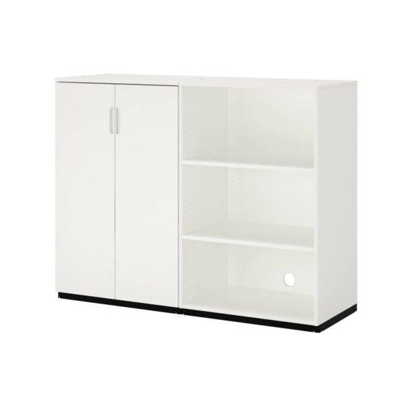 ГАЛАНТ Комбинация д/хранения, белый 160x120 см - Артикул: 492.858.03