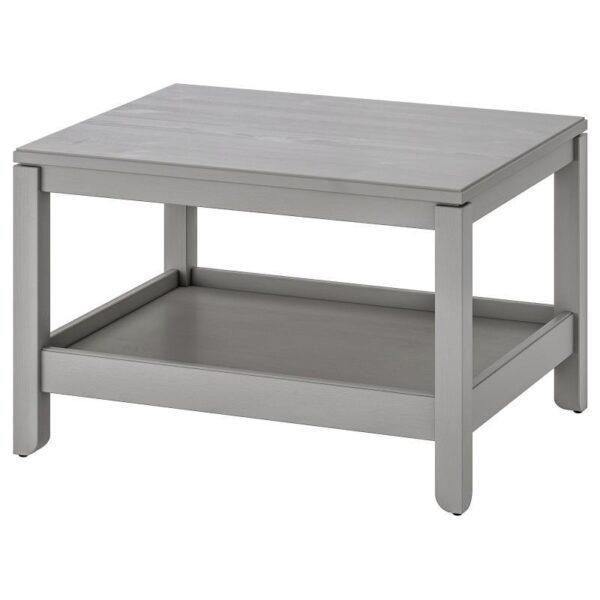 ХАВСТА Журнальный стол, серый 75x60 см - Артикул: 904.142.08