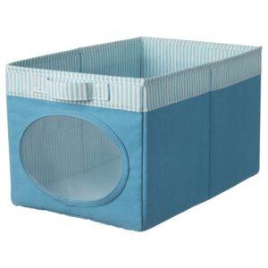 НОЙСЭМ Коробка, синий 25x37x22 см - Артикул: 204.213.25